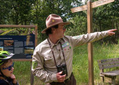 Information für Besucher im Gelände